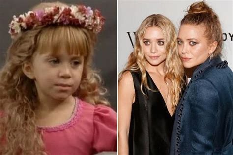 full house twins now full house cast then and now