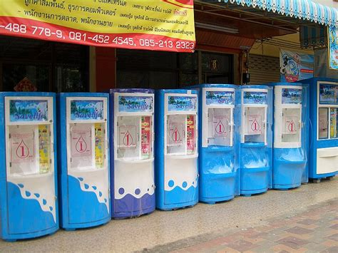 Water Dispenser Vending Machine water most water vending machines in bangkok fail quality test