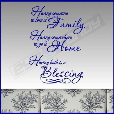 Is Handmade One Word - someone family family wall quotes words
