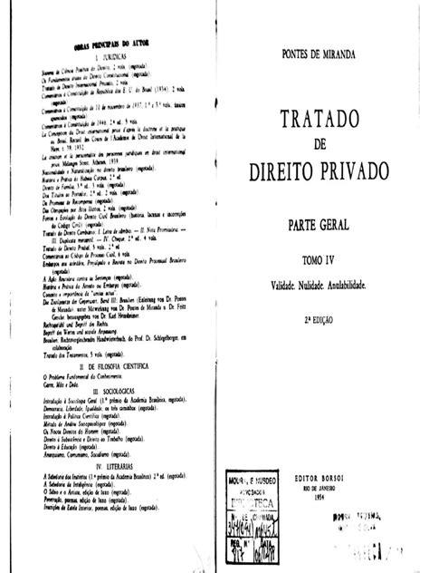 4. PONTES DE MIRANDA, Francisco Cavalcanti. Tratado de