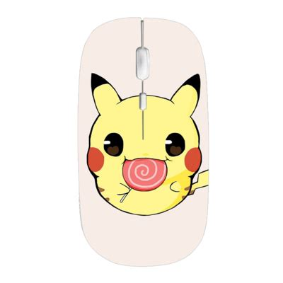 pikachu comb 2.4g slim wireless mouse with nano receiver