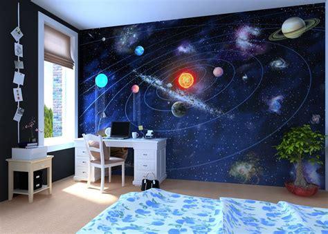 solar system bedroom solar system wall mural wallpaper photowall home