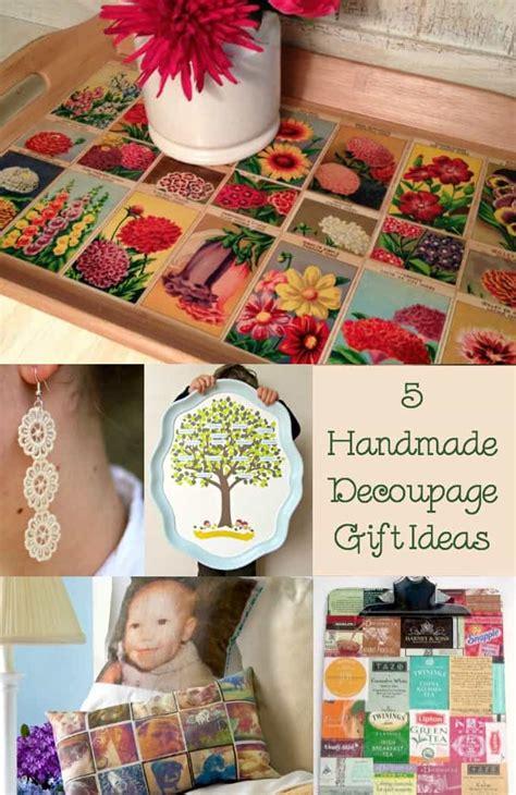 Decoupage Gift Ideas - 55 handmade gift ideas the ultimate hop mod