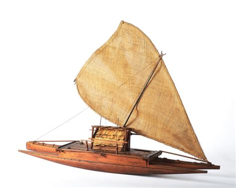 Water Well House Plans Model Double Hulled Canoe Z 2706 The Museum Of