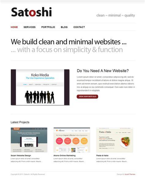 wordpress theme layout not working 15 free minimalist wordpress themes downloads the design