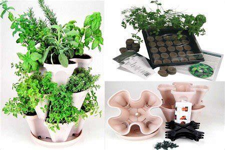 garden stacker planter indoor herbal tea herb garden kit stack grow planter pot with indoor medicinal herb garden