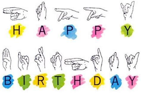 Happy Birthday Sign Language by Happy Birthday Cake Quotes Pictures Meme
