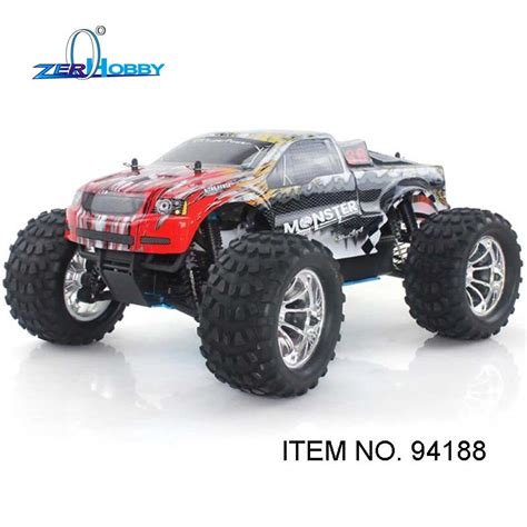 hsp nitro monster truck hsp racing car 1 10 scale 4wd off road nitro monster truck