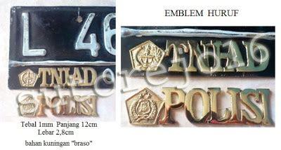 Kalung Tni Ad Kalung Army By Colia atribut dan aksesoris tni polri emblem plat nomor mobil