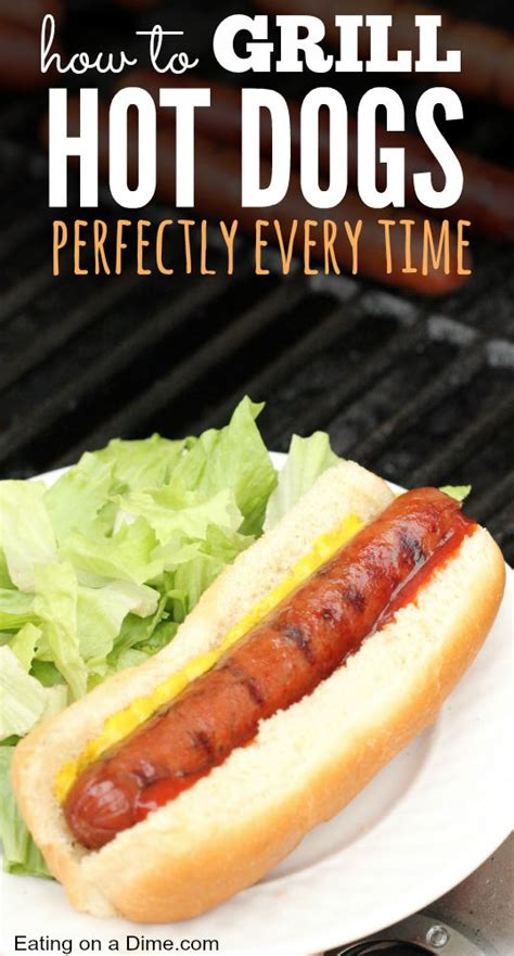 how to grill dogs how to grill dogs perfectly everytime on a dime