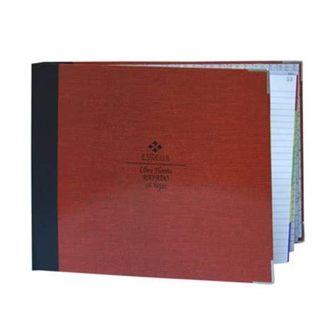 libro libreta de autor compra libro florete rayado estrella forma italiana con 96 hojas 1 pieza en m 233 xico en pedidos com