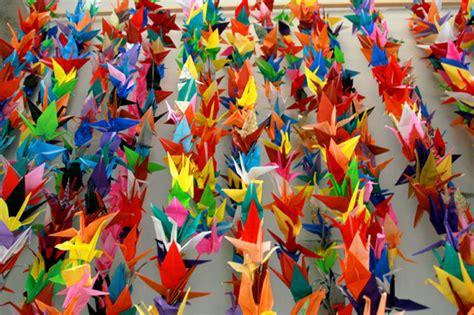 1000 Paper Cranes - 1000 cranes start creativity gt gt