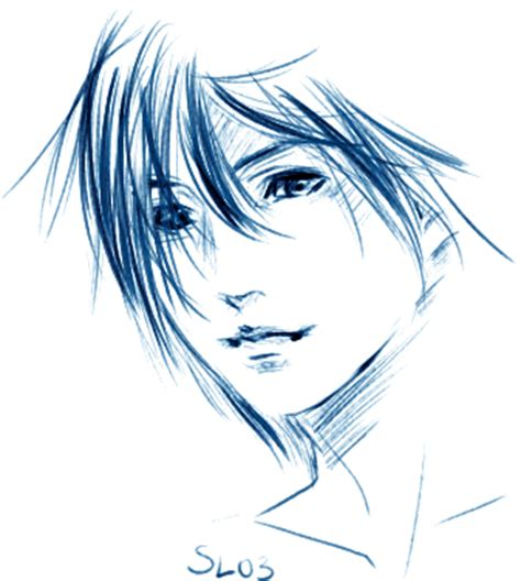 blue sketch cool sketches of guys www pixshark images galleries with a bite