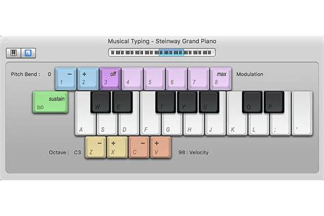 tutorial piano garageband turn your mac keyboard into a garageband piano