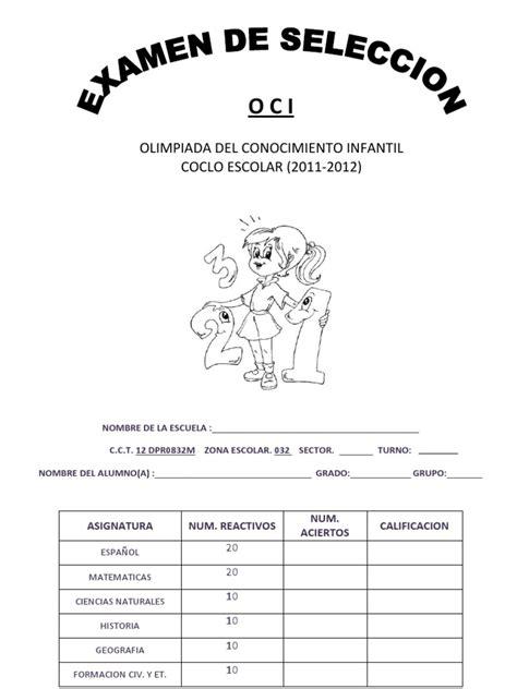 examen 10 espaol 1 el otoo de 2012 forgeology examen olimpiada del conocimiento