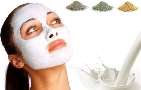 Masker Facemask Namoid Milk mask for combination skin with milk and clay