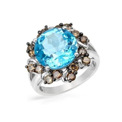 10k white gold ring with gemstones jewelry farm