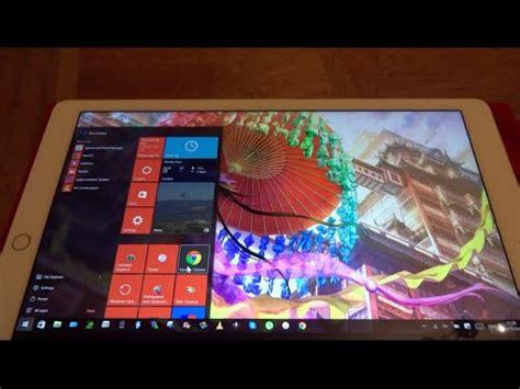 Install Windows 10 On Ipad | how to run your windows 10 pc on iphone ipad ipod touch
