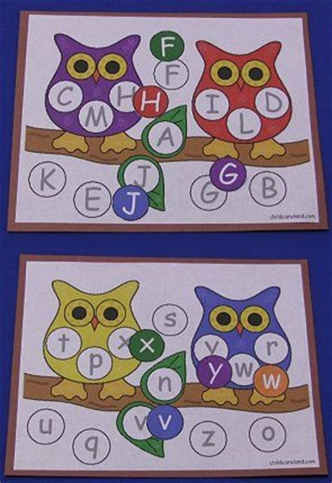 printable alphabet owl alphabet printables and owl on pinterest