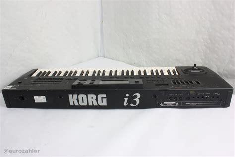 korg i3 hd gebraucht keyboard anschlagdynamik