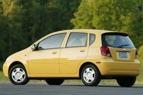 chevrolet aveo price 2007 used 2007 chevrolet aveo for sale pricing features