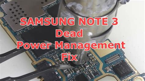 Ic Power 3 samsung note 3 power ic repair