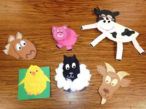 farm animal crafts for farm unit and farms on