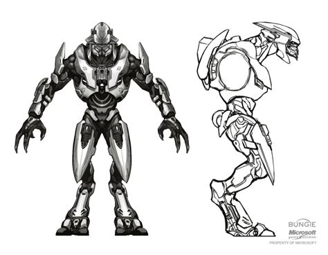 How To Draw Halo Aliens