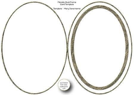 oval shaped card template metallic oval frame card template cu4cu cup331997 99
