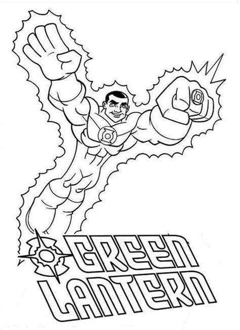 Green Lantern Coloring Pages To Download And Print For Free Color Chkids Green Lanter