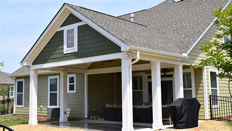 covered porch covered porch contractor lake norman lake