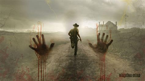 Wallpaper 3d The Walking Dead | the walking dead wallpapers 1920x1080 wallpaper cave