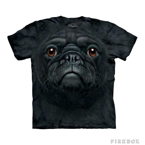 black pug t shirt big black pug t shirt firebox shop for the