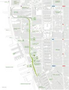 Highline New York Map by The Bowery Boys High Line Audio Walking Tour Featuring