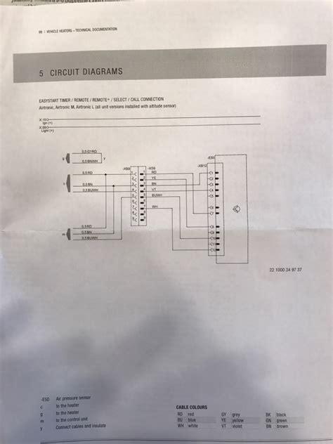 wiring help with espar sprinter 28 images penn