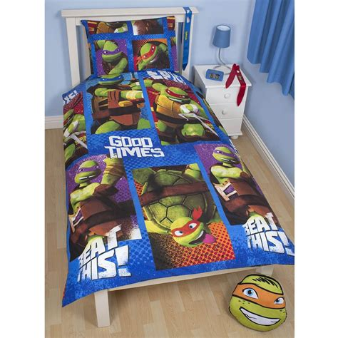 ninja turtles bed set teenage mutant ninja turtles bedding single duvet cover