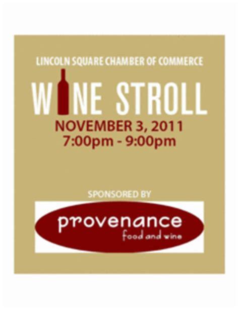 lincoln square wine stroll lincoln square fall wine stroll