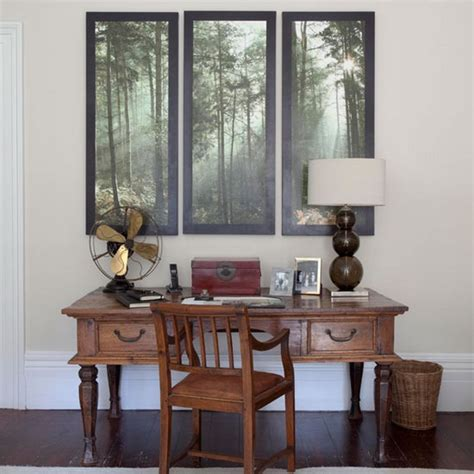 the home furnishing for a traditional home office