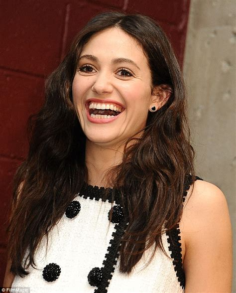 emmy rossum smile emmy rossum wows at the moto x film experience premiere in