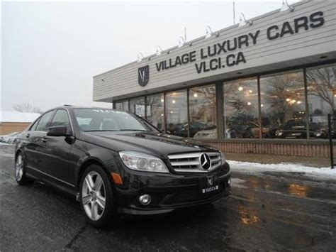 Mercedes C300 Owners Manual 2010 Mercedes C300 6 Speed Manual In Review