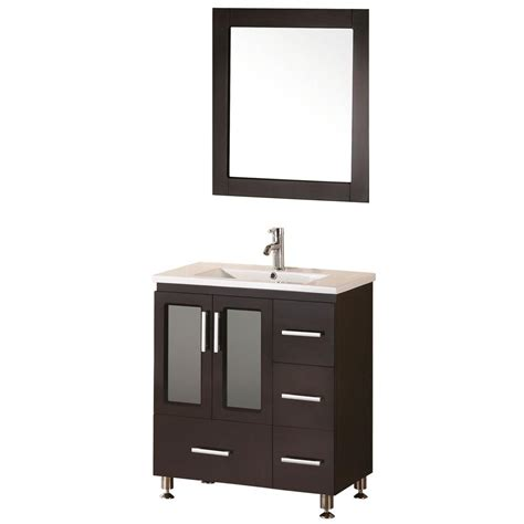 home depot design element vanity design element stanton 32 in w x 18 in d vanity in
