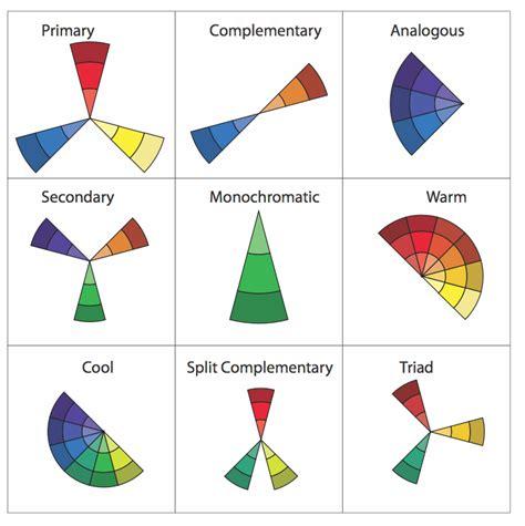 color harmonies grid design