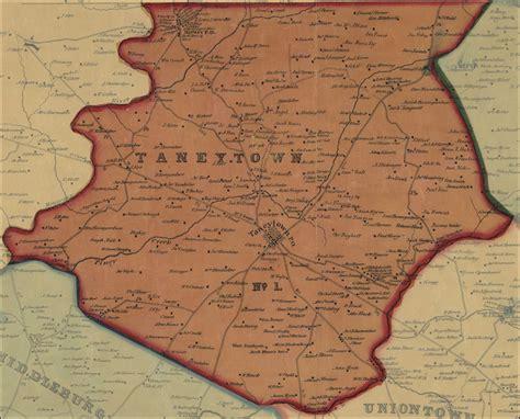 Carroll County Judiciary Search Simon J Martenet Map Of Carroll County 1862 District 1