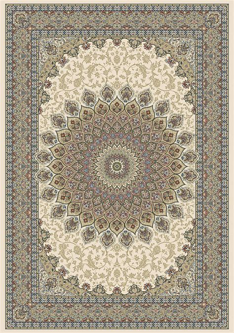 Ancient Garden 57090 6484 Ivory Area Rug By Dynamic Rugs Ancient Rugs
