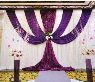 Yarn Wedding Backdrop by 2013 Wedding Background Yarn Curtain Wedding Backdrops