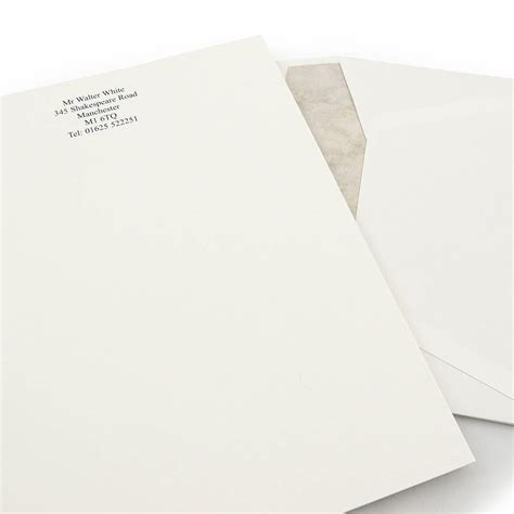 headed writing paper premium writing paper set by able labels