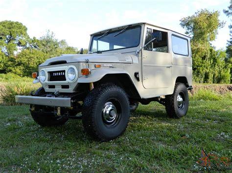 Toyota Hj Toyota Land Cruiser Fj40 1971 Fj 40 Restored Bj40 Bj 42 Hj