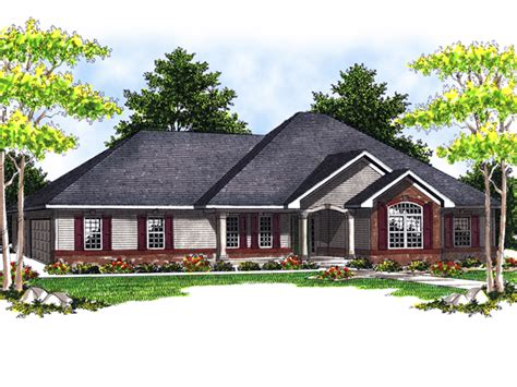 luxury ranch house plans longfield luxury ranch home plan 051d 0514 house plans