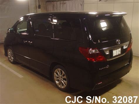 Talang Air Alphard Injection 2011 2011 toyota alphard black for sale stock no 32087 japanese used cars exporter