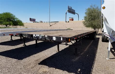 flatbed trailer headboard used flatbed semi trailers for sale in az midco sales